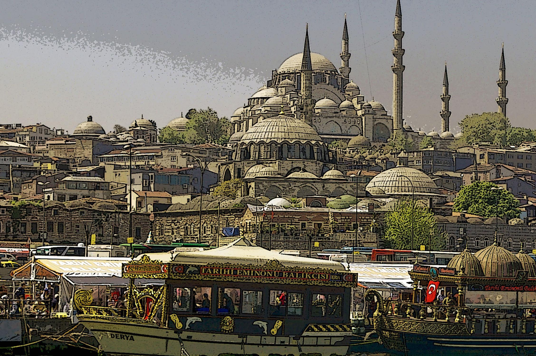 Bild mit Städte