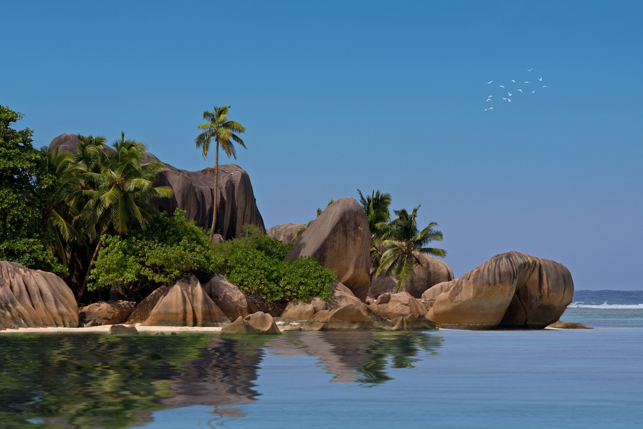 Bild mit Insel, A U F . R E I S E N, Seychellen