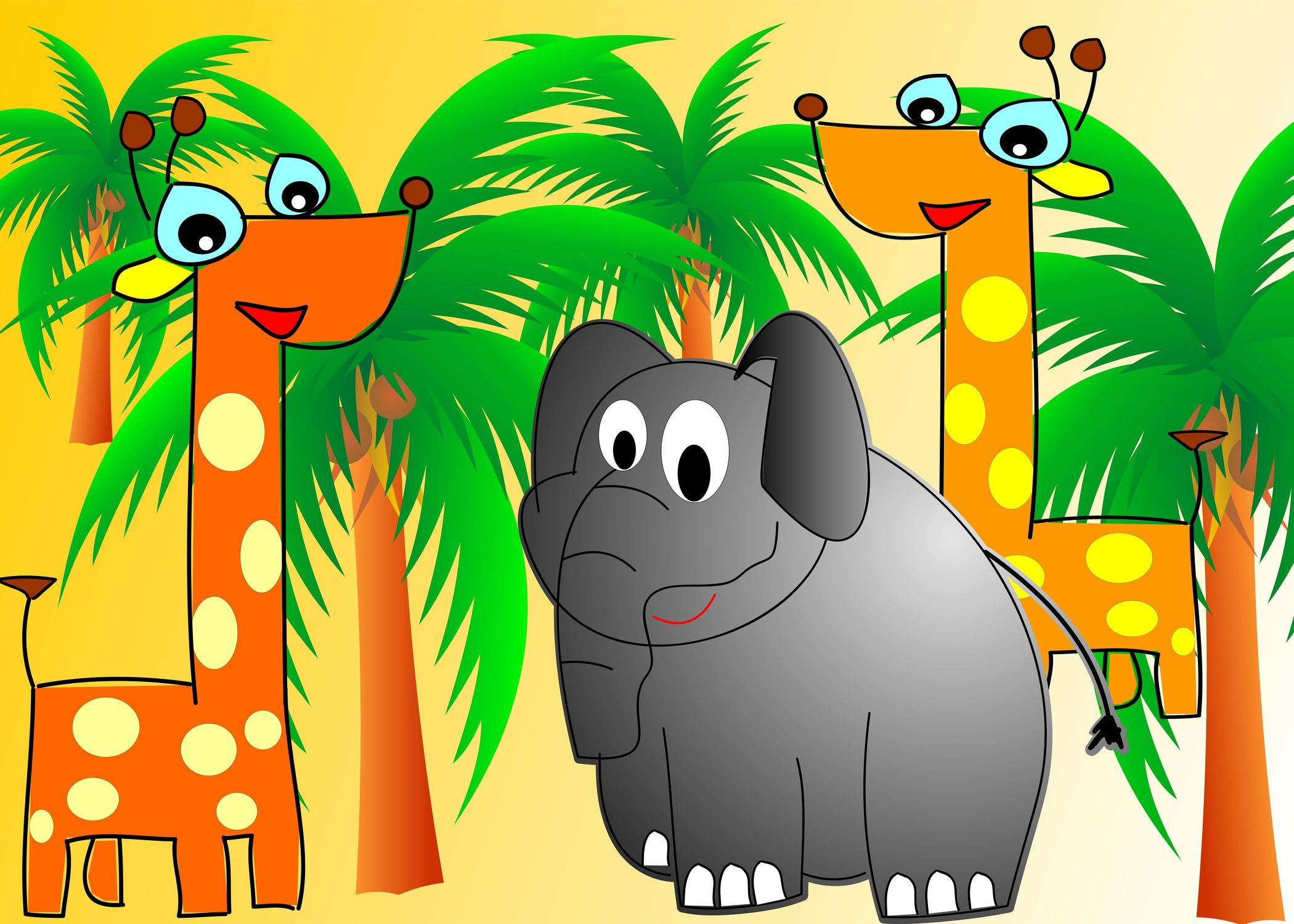 Bild mit Zeichnung, Illustration, Kinderbild, Kinderbilder, Kinderzimmer, Kinder
