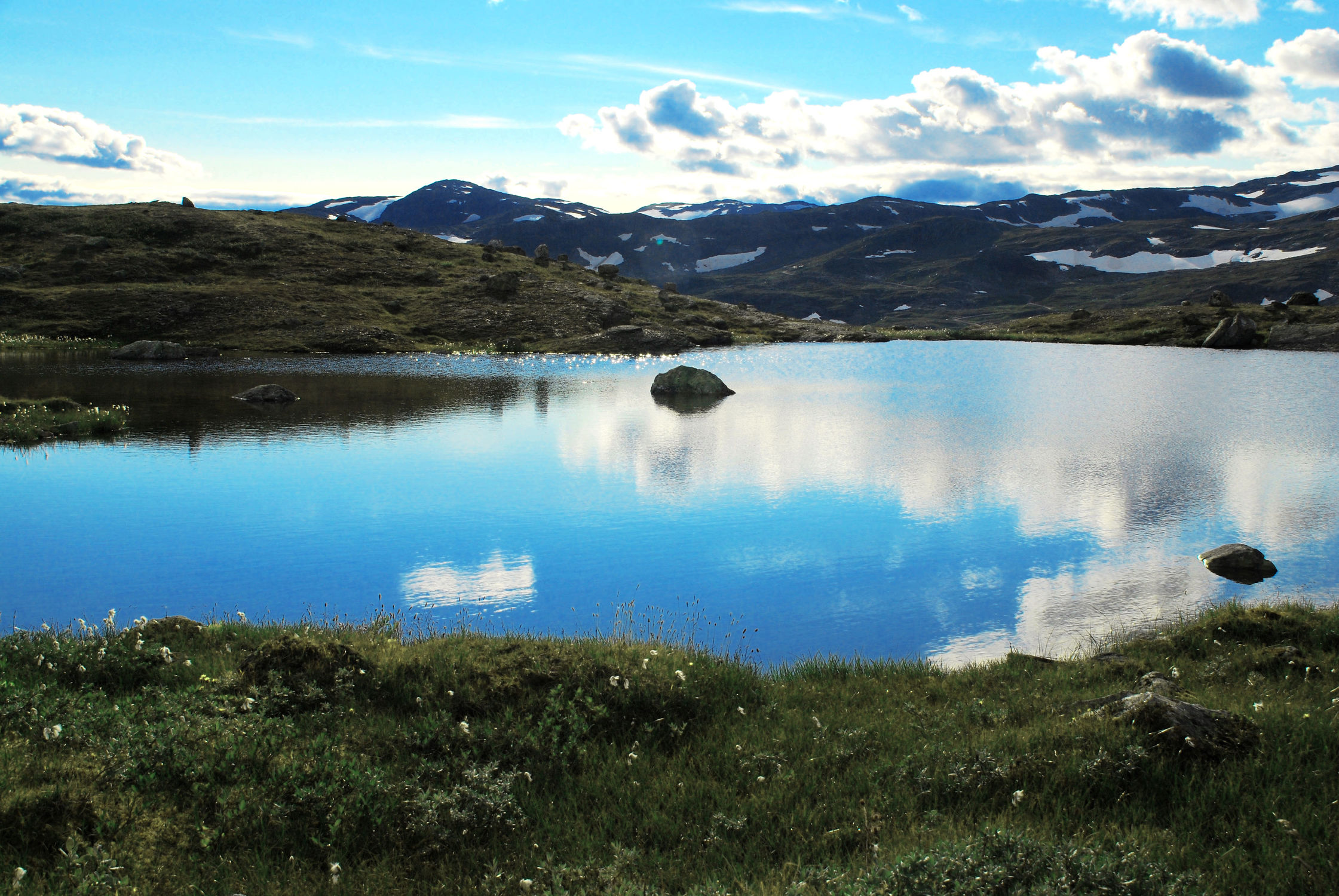 Bild mit Natur, Wasser, Landschaften, Seen, Landschaft, See, Norwegen, Gebirge