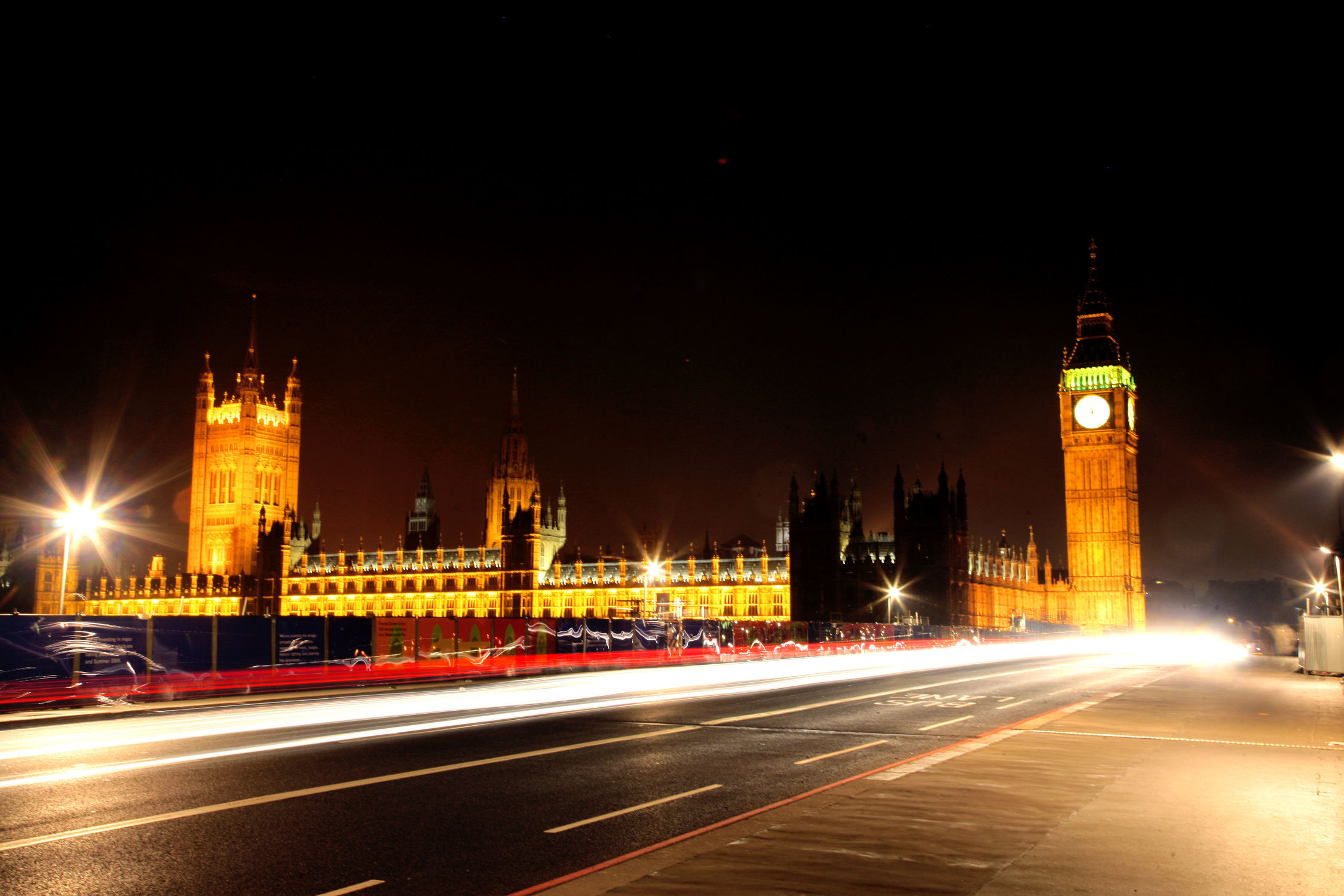 Bild mit Big Ben, Städte, England, London, Stadt, City of London, City, Nacht, Stadtleben