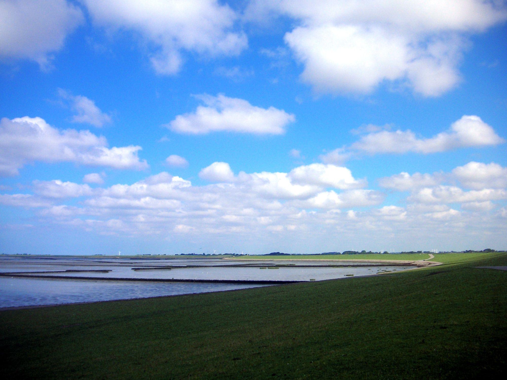 Bild mit Natur, Wasser, Weiden und Wiesen, Gewässer, Küsten und Ufer, Meere