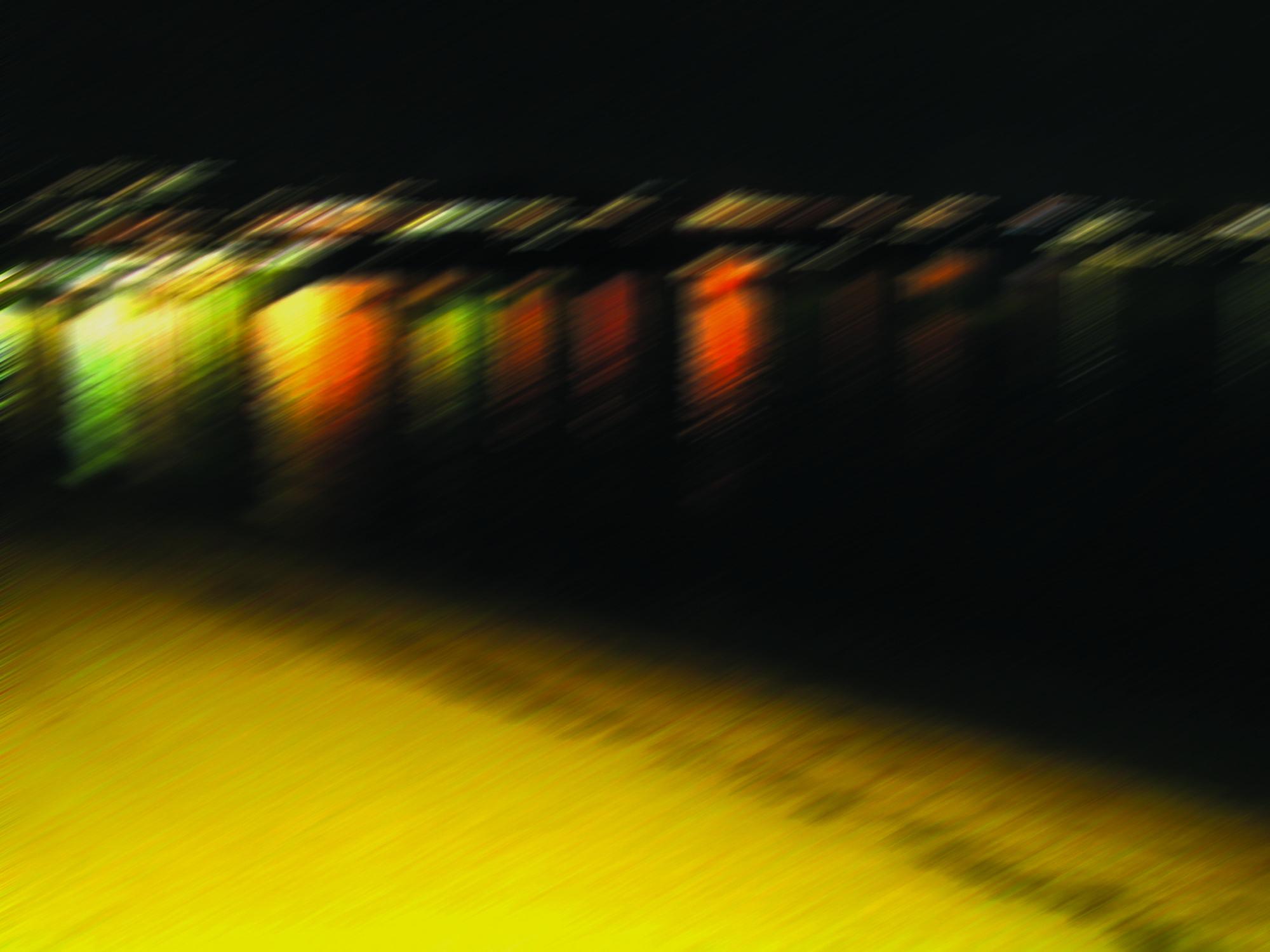 Bild mit Farben, Orange, Gelb, Natur, Elemente, Wasser, Grün, Himmel, Reflexion, Rot, Dunkelheit