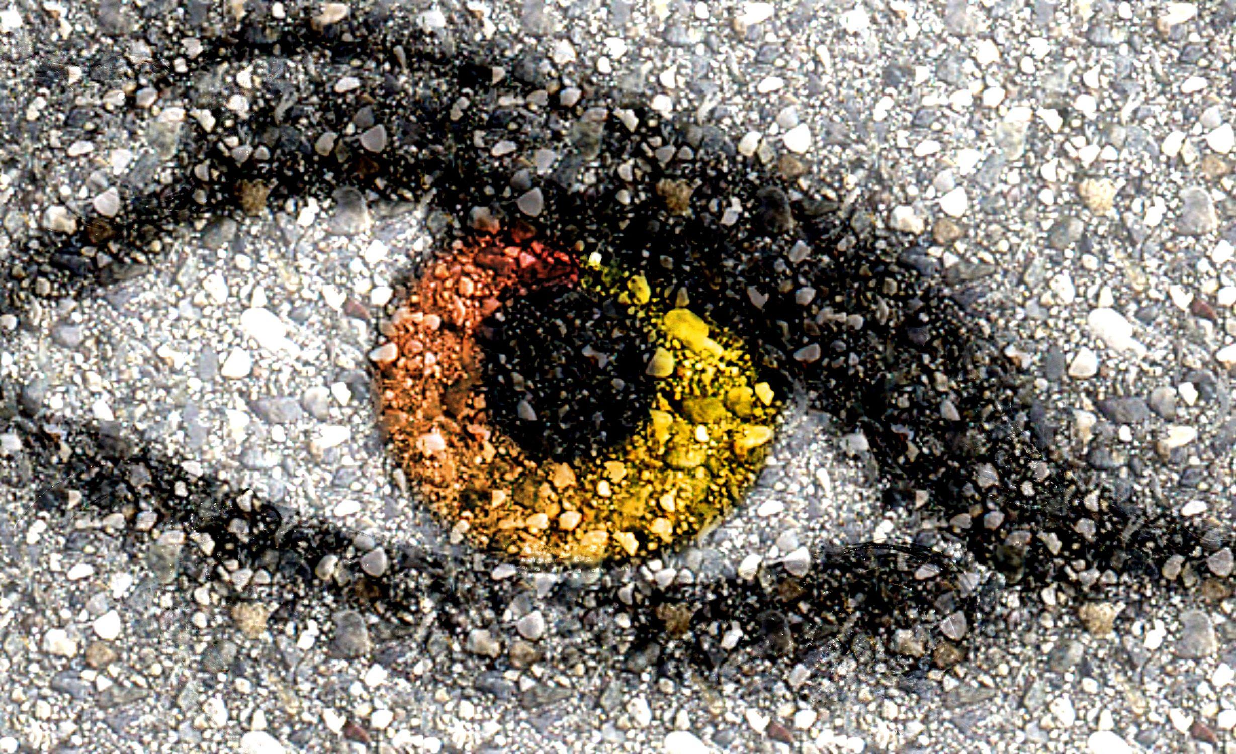 Bild mit Menschen, Augen, Struktur