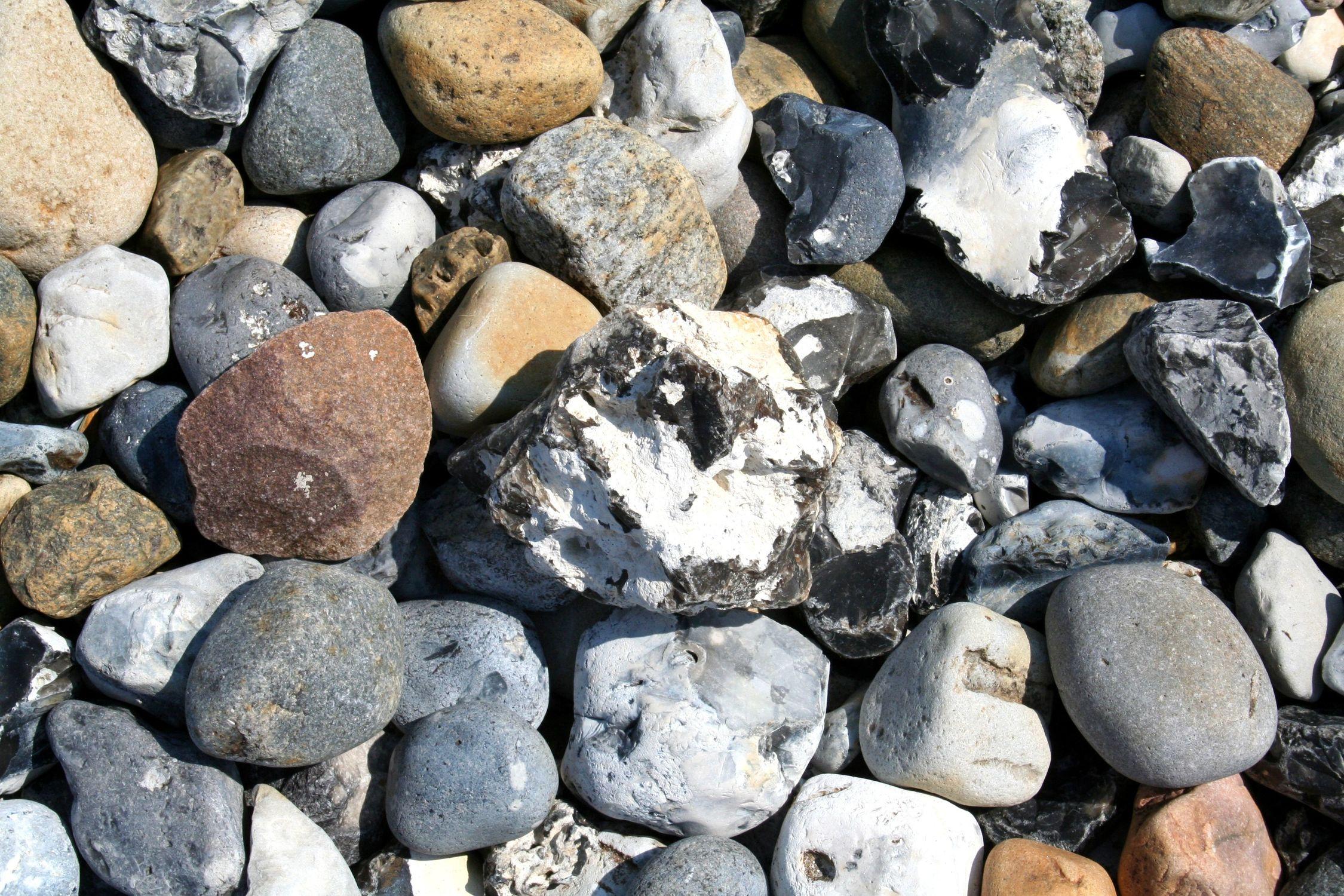 Bild mit Ostsee, Steine