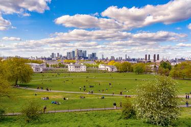 Skyline from Greenwich