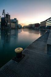 Bild mit Wasser, Sonnenuntergang, Urlaub, Architektur, Gebäude, Häfen, Häfen, Stadt, Fluss, Münster