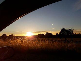 Bild mit Sonnenuntergang, Sunset, Sonnenuntergänge