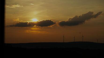 Bild mit Sonnenuntergang, Sonne, Sonnen Himmel, Sonnenschein