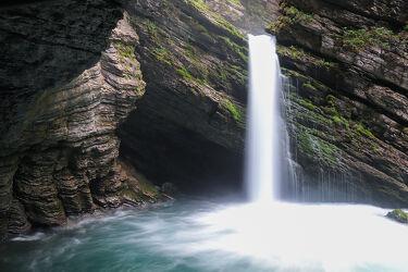 Bild mit Natur, Wasser, Landschaften, Felsen, Wasserfall, Langzeitbelichtung, Moos, Thurfall