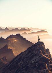 Bild mit Berge, Sonnenuntergang, schweizeralpen