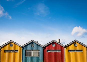 Bild mit Meere, Hütten, Städte, Häfen, Ostsee, Meer, Hafenstadt, Stadt, Warnemünde, Rostock, Hütte