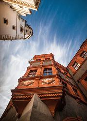 Bild mit Städte,Häuser,Haus,Stadt,Görlitz,Altstadt,City,alt,alte Häuser,Früher,Hof