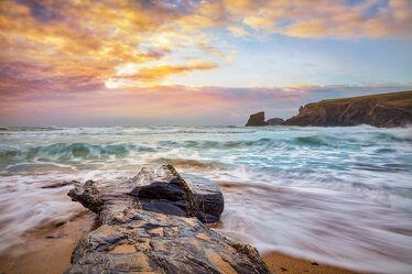 Bild mit Natur, Felsen, Strände, England, Meer, Landschaft, Wasserlandschaften, großbritannien, Flut, Cornwall