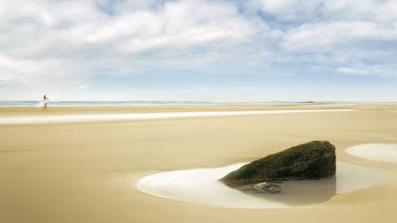 Bild mit Natur, Felsen, Strände, Stein, Sand, Strand, Sandstrand, Meer, Steine, Nature, See, Fels