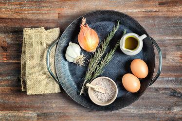 Bild mit Lebensmittel,Essen,Food,Küchenbilder,KITCHEN,wandtapete,Küche,Küchen,Pfanne