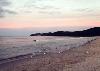 Bild mit Wasser, Gewässer, Sonnenuntergang, Sonnenaufgang, Ostsee, Meer, Sunset, Ostseebilder