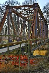 Bild mit Architektur, Eisen, Brücken, Brücke, Eisenbahn, Eisenbahnbrücke, Schienen, bridge, bridges, Railway, Railway Bridge, Old Bridge, Eisenbahnbrücken, Alte Brücke