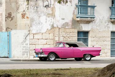 Pink Cabrio