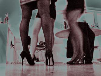 meeting women's legs