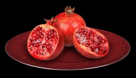 Bild mit Früchte, Frucht, Obst, Küchenbild, Apfel, Apfel, Food, Küchenbilder, Küche, Esszimmer, Granatäpfel, Granatäpfel