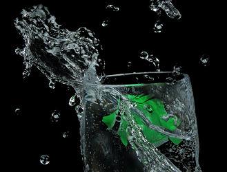 Bild mit Kunst, Wasser, Fische, Glas, Küchenbild, Wassertropfen, Fisch, Food, Küchenbilder, KITCHEN, water, getränk, Küche, Splash, wasserglas, glas wasser