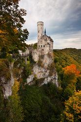 Bild mit Natur, Landschaften, Wälder, Herbst, Schlösser, Schloss, Wald, Landschaft, Burg, Burgen