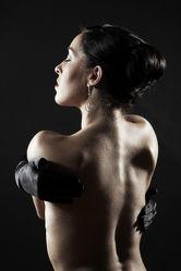 Rückenansicht Akt