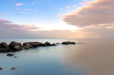 Stiller Morgen am Meer