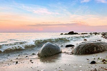 Entspannung und Abendstimmung am Meer