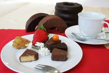 Bild mit Erdbeere, Küchenbild, Küchenbilder, Physalis, Küche, Küchen, Baumkuchen