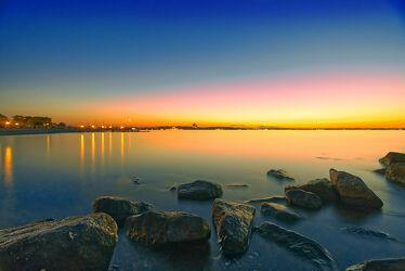 Sonnenuntergang am Timmendorfer Strand