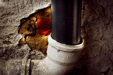 Bild mit Metall,Industrie,Steine,rustikal,Mauer,Loft Style,DagmarGiers,Dagmarmarina,Loftstyle,Rohr,Rohre,Röhren,Verbindung,Objekt,Gegenstand,modern,Verbindungsrohr