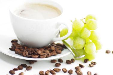 Kaffee Weintrauben Genuss