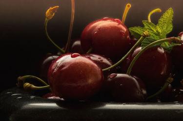 Bild mit Früchte,Lebensmittel,Frucht,Fruit,Obst,Küchenbild,Kirsche,Stillleben,Food,Küchenbilder,KITCHEN,GESUND,Küche,Kochbild,cherry,Kirschen,vegan,healthy