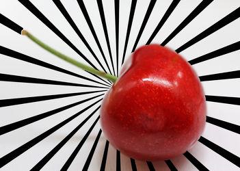 Bild mit Früchte, Lebensmittel, Frucht, Obst, Küchenbild, Kirsche, Stillleben, Food, Küchenbilder, KITCHEN, Küche, Kochbild, cherry, Kirschen, rockabilly