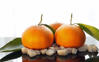 Bild mit Früchte,Lebensmittel,Frucht,Obst,Küchenbild,Küchenbilder,KITCHEN,Küche,Clementinen,Clementine