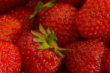 Bild mit Früchte,Lebensmittel,Frucht,Obst,Erdbeere,Erdbeeren,Küchenbild,KITCHEN,Küche