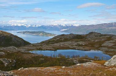 Blick auf den Kvaenangsfjord