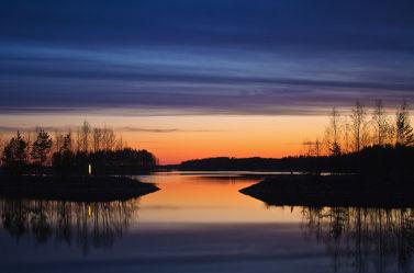 ein Abend in Finnland