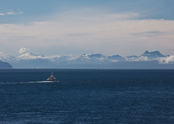 Kutterfahrt bei Tromsö, Norwegen