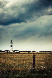 Lighthouse of Kampen (vintage)