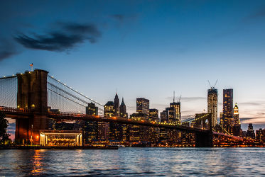 NYC: Brooklyn Bridge - blue hour II