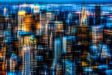 Bild mit Kunst, Abstrakte Kunst, art, New York, hochhaus, wolkenkratzer, Hochhäuser, NYC