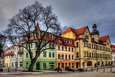 Bild mit Architektur, Gebäude, Städte, Häuser, Haus, Stadt, Historische Gebäude, Mansfeld Südharz, dorf, Markt