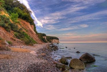 Bild mit Felsen, Stein, Urlaub, Strand, Ostsee, Meer, Steine, See, Gestein, Fels, Kreidefelsen