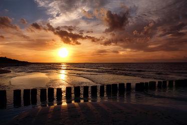 Bild mit Wasser, Himmel, Gewässer, Seen, Sonnenuntergang, Sonnenaufgang, Ostsee, Meer, Wolkenhimmel, See, Mansfeld Südharz, Buhlen