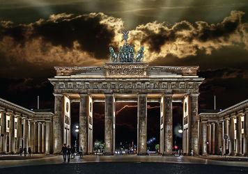 Bild mit Architektur, Deutschland, Städte, Berlin, Sehenswürdigkeit, Stadt, City, Sehenswürdigkeiten, Brandenburger Tor, Hauptstadt, Berliner tor