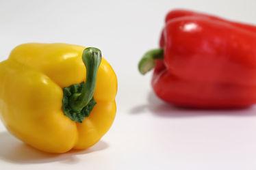 Bild mit Gemüse, Küchenbilder, KITCHEN, Küche, Paprika, Paprikaschoten