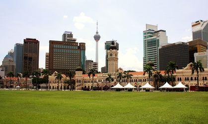 Bild mit Reisefotografie, Skyline, hochhaus, wolkenkratzer, malaysia, asien